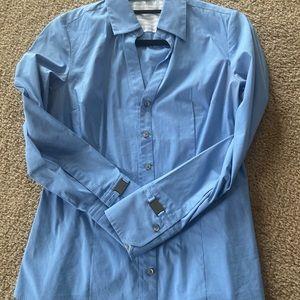 Express - Original Button Down Dress Shirt - Med.